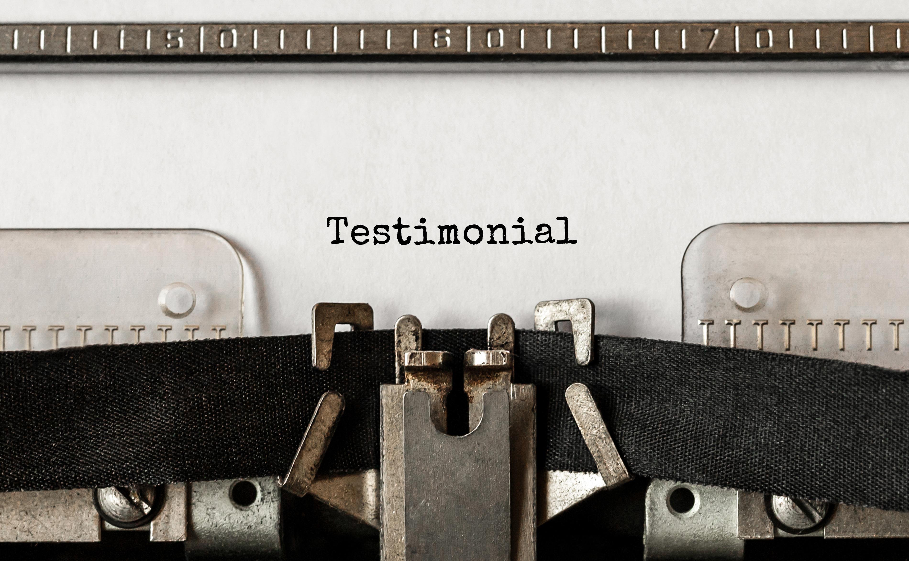 Coaching Testimonial
