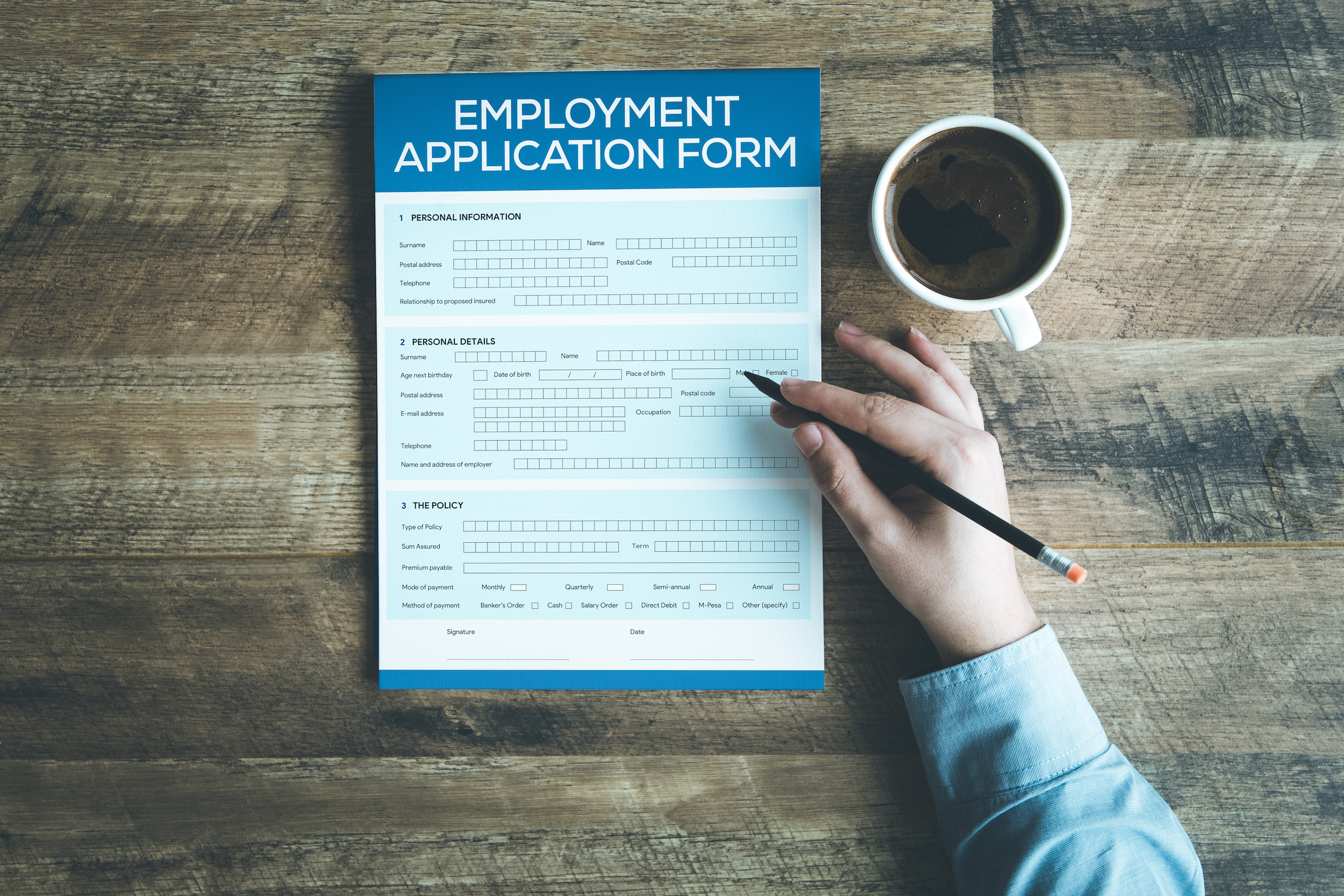 Help to write job application